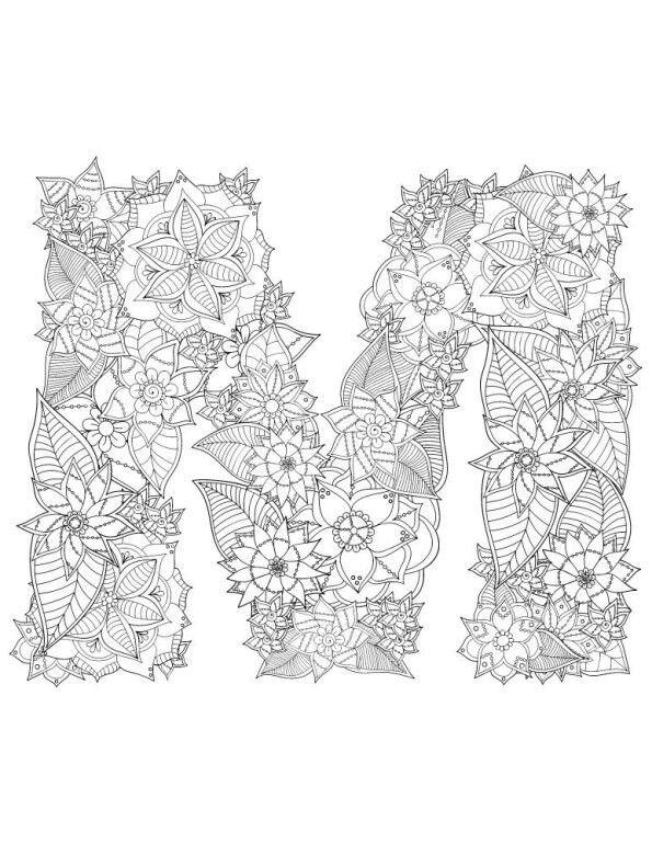 Pin Von Marie Gregoire Auf Mandala Malvorlagen Buchstaben Zeichnen Ausmalbilder Mandala Malvorlagen