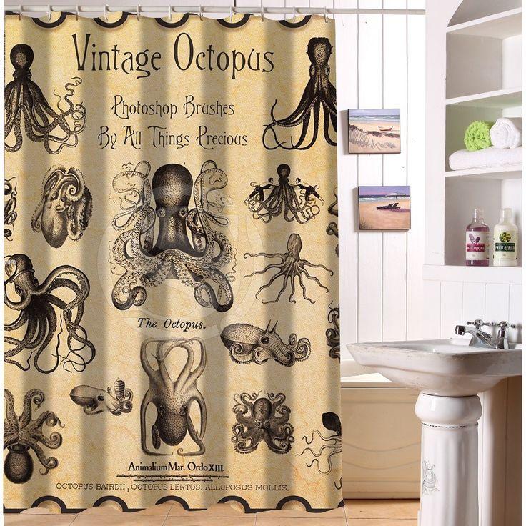Les 25 meilleures images de la cat gorie rideaux de douche for Rideau de douche tissu impermeable
