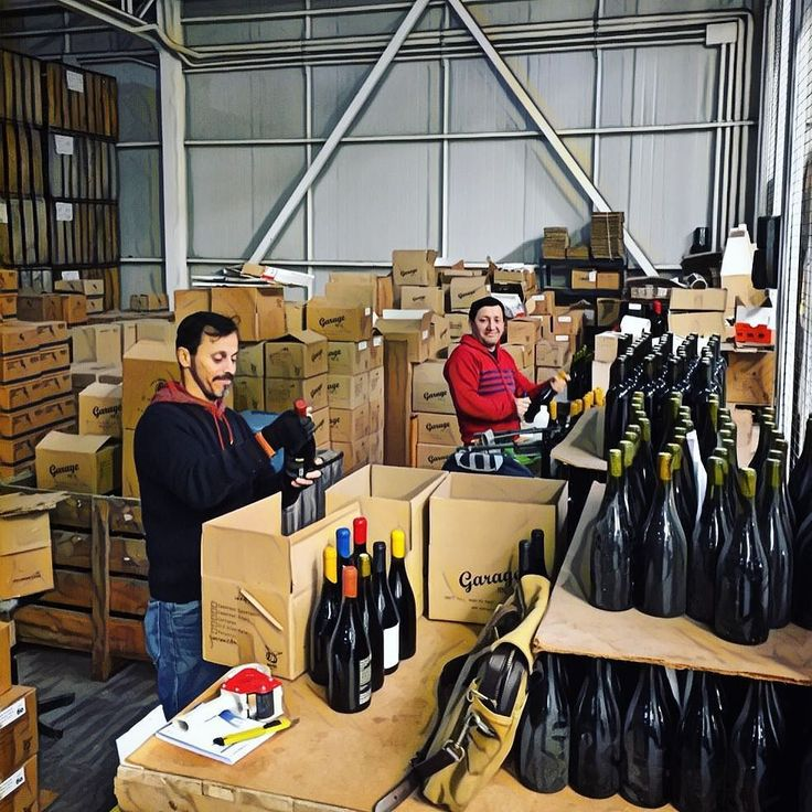 Back to wine work with the bottle whisperers