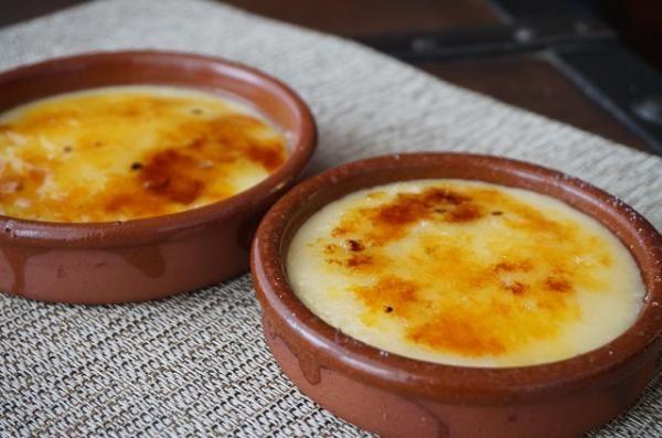 Receta de Crema catalana sin maicena