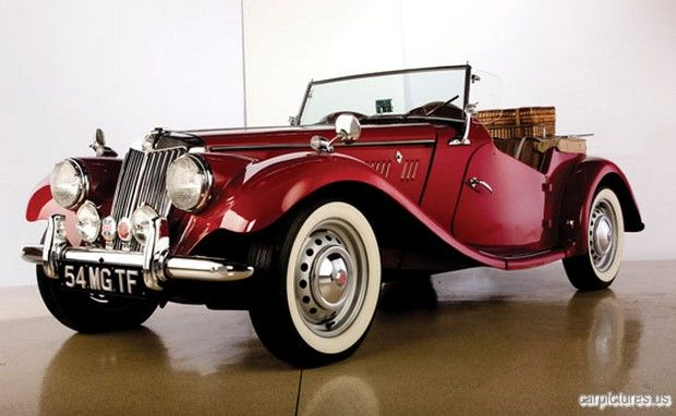 1954 MG TF Roadster.. I would love to drive this car around in England and English countryside.
