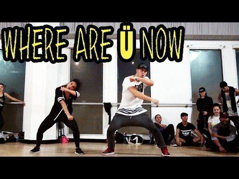 WHERE ARE Ü NOW - Skrillex & Diplo ft @JustinBieber Dance   @MattSteffanina #WhereAreUNow - YouTube