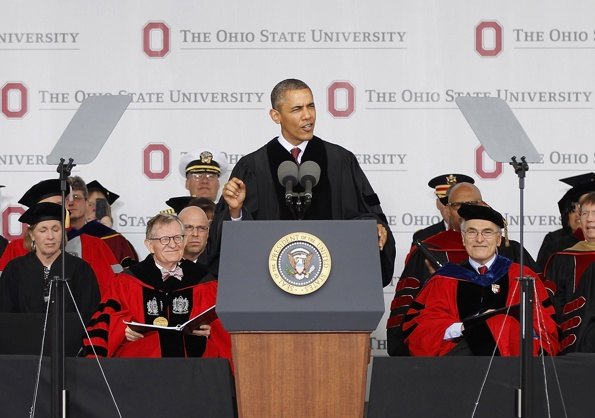 Another LIE and DECEIT:  Obama to College Students:  'Reject These Voices' That Warn of Big Government & Tyranny!'