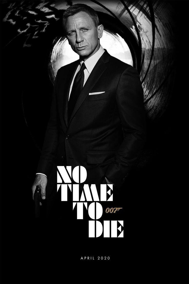 Watch No Time To Die 2020 Online 123movies Affiche Film James Bond Cinema