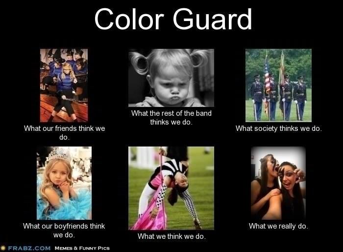 Need help on an essay for colorguard?