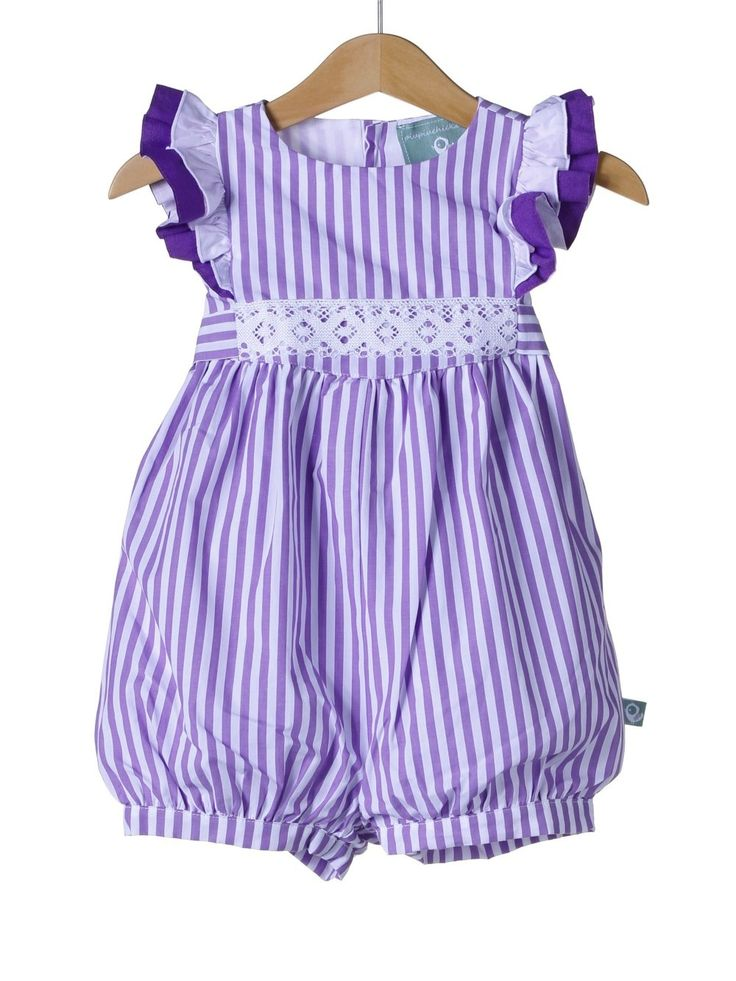 Use the Hampton romper pattern from mud and ruffles