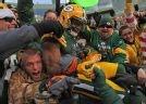 Randall Cobb and a well deserved Lambeau Leap. Green Bay Packers Photos - ESPN