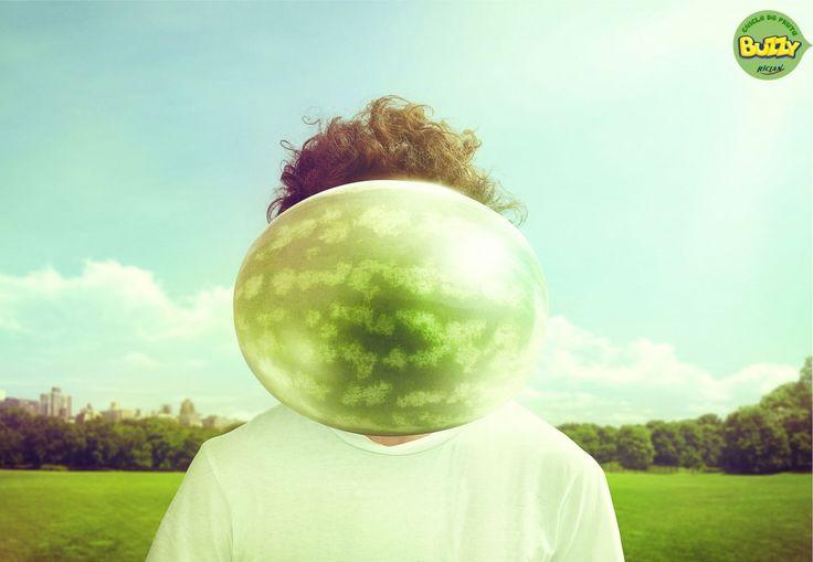 Buzzy Bubble Fruit Gum Campaign | http://www.gutewerbung.net/buzzy-bubble-fruit-gum-campaign/ #Advertising