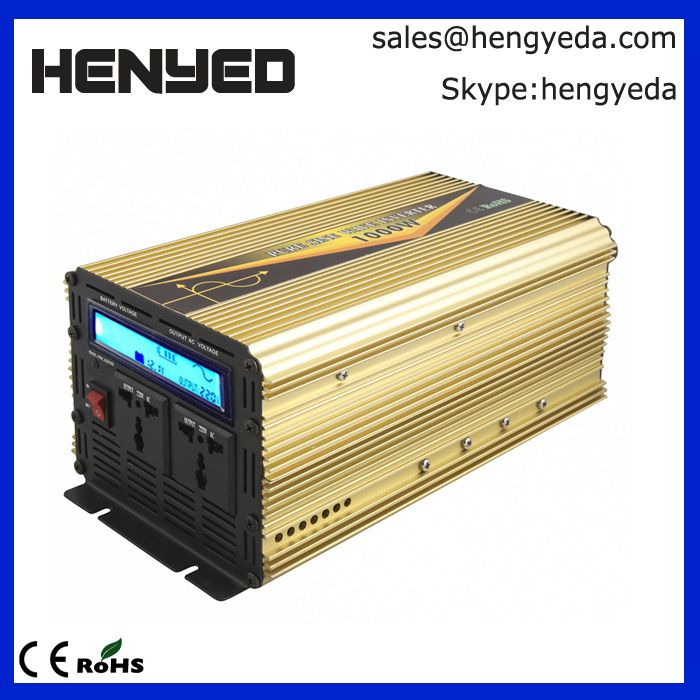 Power Express 1000 Watt Power Inverter Adapter 24v To 110v 120v Dc Ac Shenzhen Heng Ye Da Electronic Co Ltd Solar Inverter Solar Panels Power Inverters