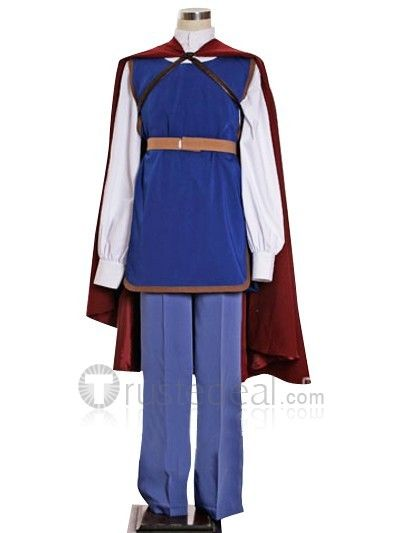 Snow White's Prince Florian Costume  http://www.trustedeal.com/Snow-White-and-the-Seven-Dwarfs-Prince-Cosplay-Costume_p22091.html