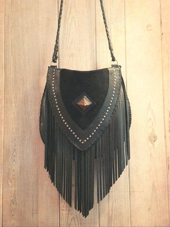 Venus Fringe Crossbody Bag by nativerainbow on Etsy