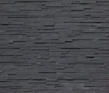 Would love this for my fireplace surround.  // Thin Charcoal Shadowstone 9 R Stacked stone, natural stone veneer contemporary accessories and decor