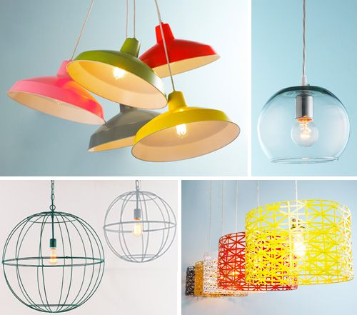 Shady Business | Young House Love - well this is exciting - a line of under $100 light fixtures by YHL