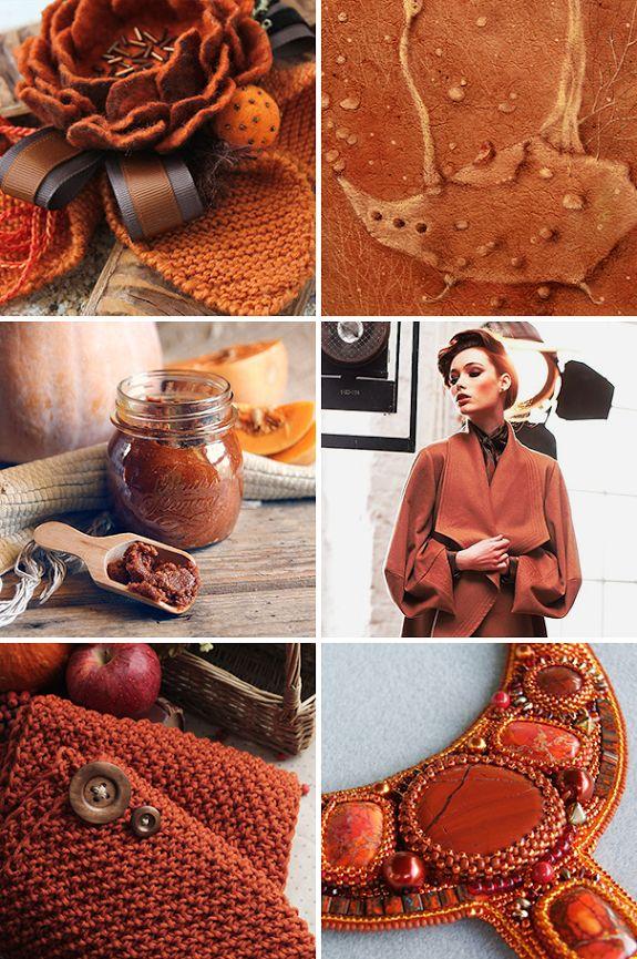 «Тыквенный чай с пряностями» — коллекция предметов ручной работы  Handmade items set, see more: http://www.livemaster.ru/gallery/1391873