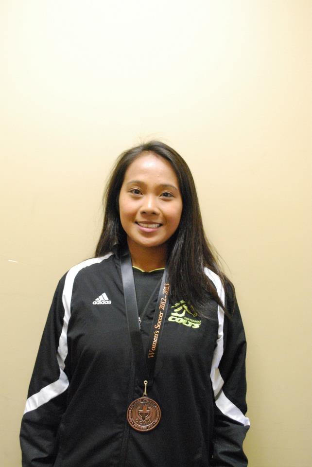 Maria Tayag  Assitant Coach (Women's Soccer)