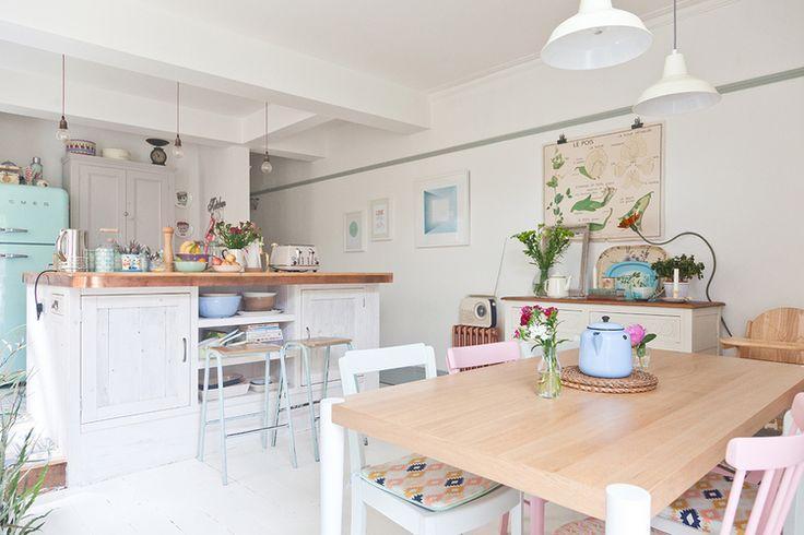 Pastel @ home op Pinterest  Pastel kamer, Pastel interieur en PiP