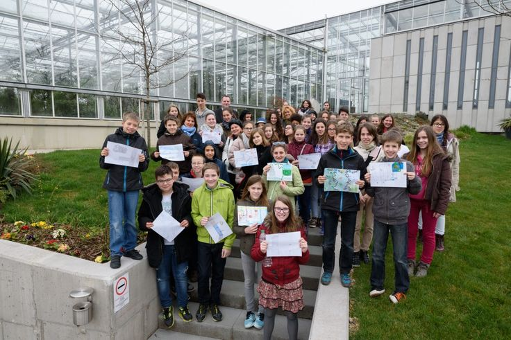 A class of 12 years old children visited an Organica-powered wastewater treatment plant on World Water Day 2015