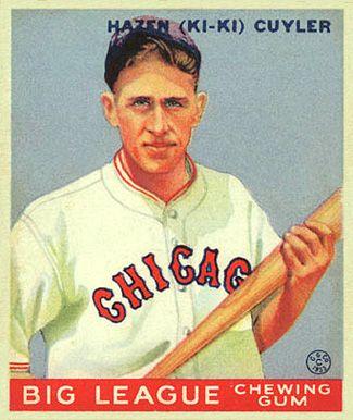 Kiki Cuyler - Chicago Cubs - 1968