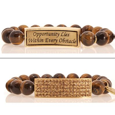 ID Bracelet: Tiger's Eye by Empowered for Purpose on Opensky