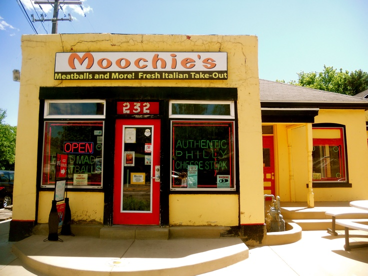 Moochie's in Salt Lake City, UT; Philly Cheese Steak heaven! Can't get enough of the jalapeno sauce!