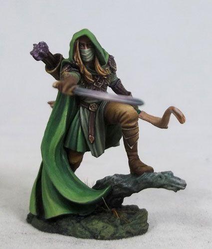 Male Elven Ranger with Bow • Sculptor: Jeff Grace • Painter: Jessica Rich