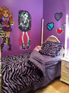 Monster High Room Decor Ideas For Decorating Kids Room. Children Room  Decorating Ideas With Monster High Dolls And Monster Characters