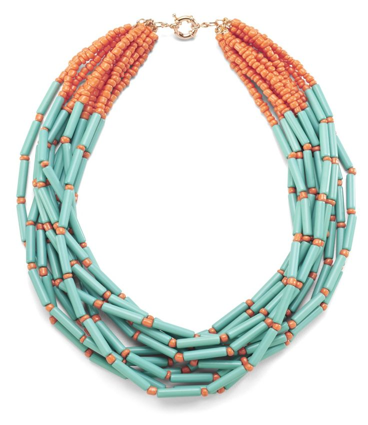 Samba Necklace {Two Color Options} Bold, bright and perfect!  SwellCaroline.com
