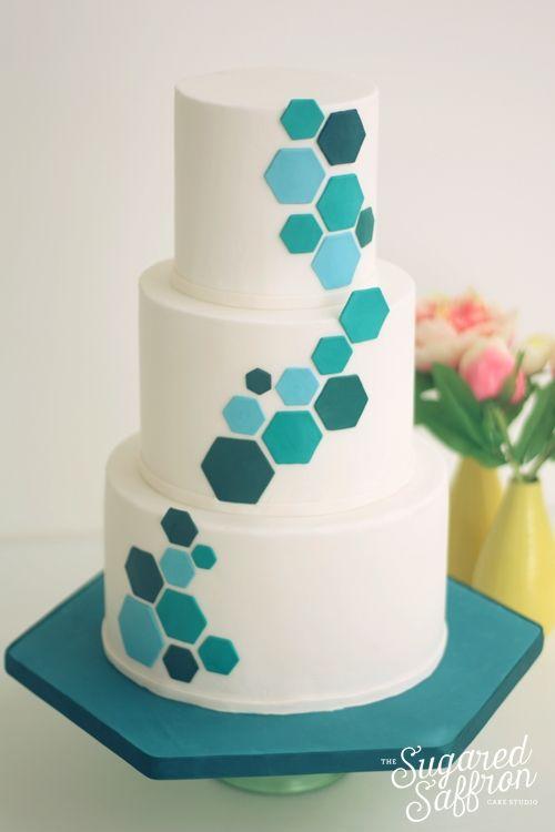 Hexagon Cake Dummy Diy