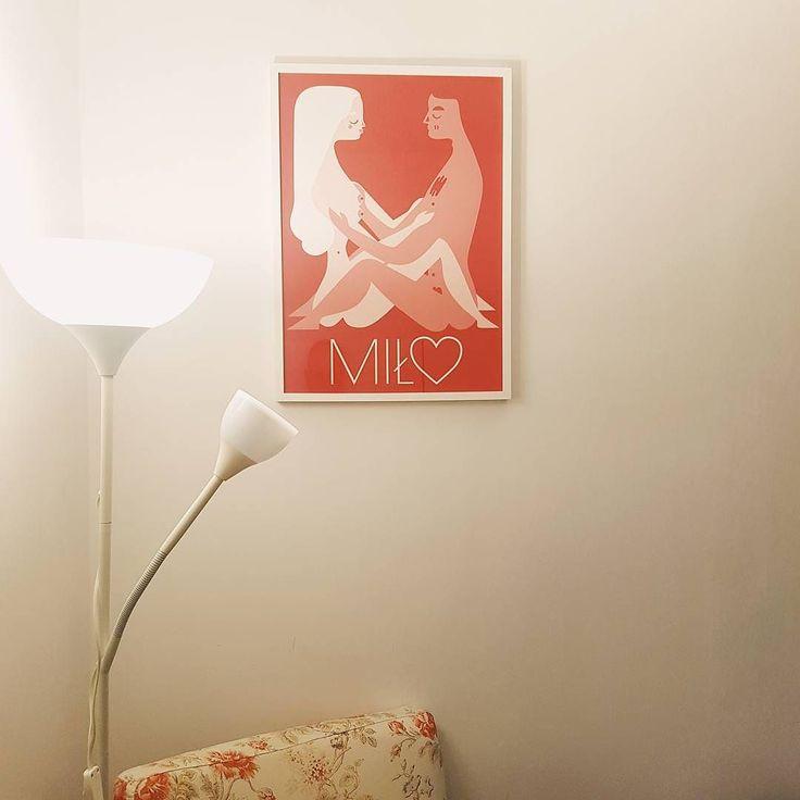 Nowy plakat nad łóżko od Fajne Chłopaki Studio   #miło #miłość #plakat #polishgirl #polishboy #łóżko #edukacjaseksualna #poster #igerspoland #vzcopoland #fajnechłopaki #cycki #penisukryty