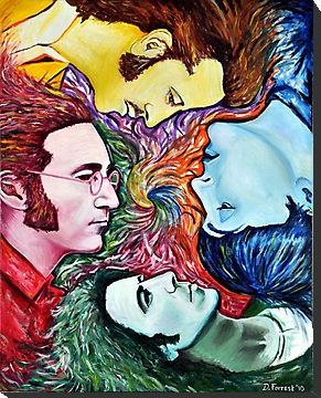 Beatles in Colour by ForrestFineArts