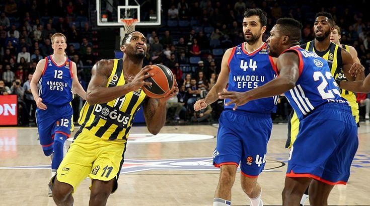Anadolu Efes - Fenerbahçe Doğuş Özeti