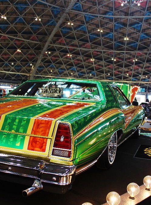 The Lowrider Car Show JAPAN tour 2012 Kick off in NAGOYA アメ車 ローライダー