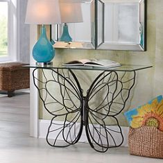 Monarch Butterfly Console Table -LOVE!!!