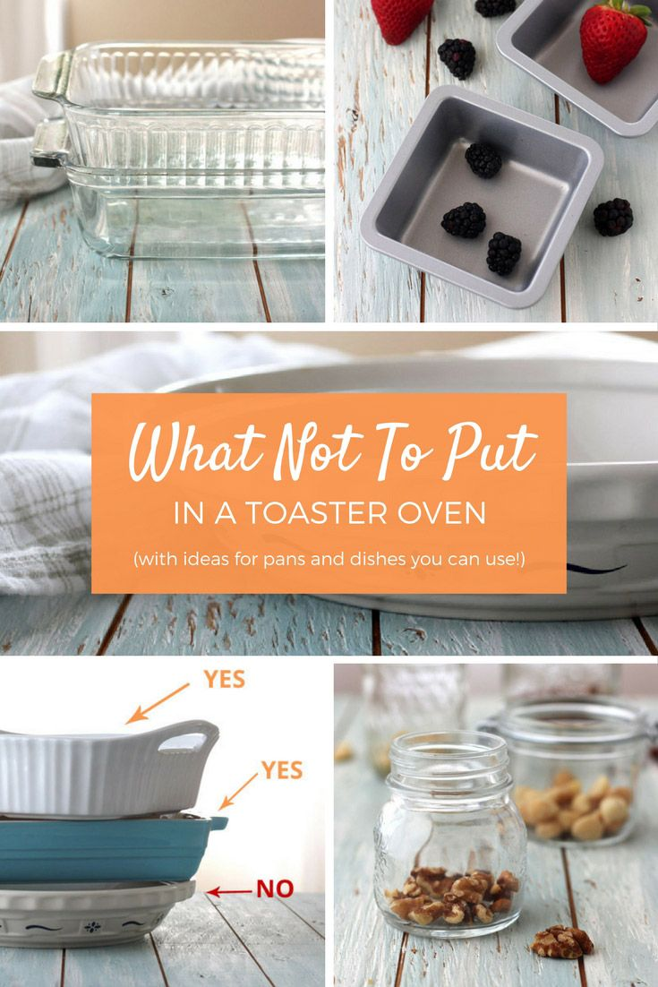 Curious about what you should never use in a toaster oven? You'll be surprised by the materials and baking dishes that don't belong in your fabulous little oven.   via @toasterovenlove