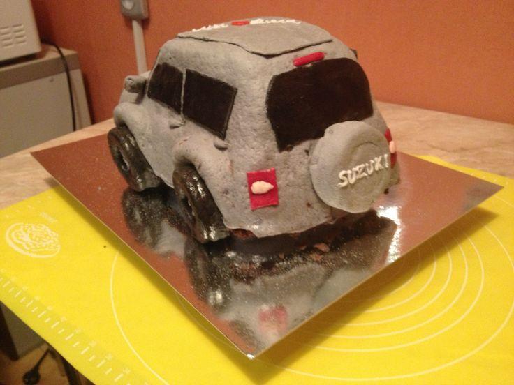 Cake car Suzuki