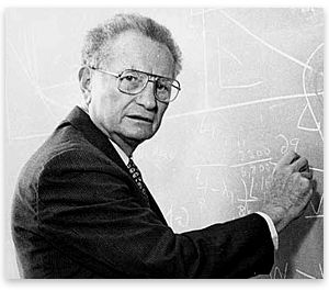 Paul Samuelson :  Applications of  Mathematical Methods in Economics     http://callerealfm.files.wordpress.com/2010/01/paulsamuelson131209.png