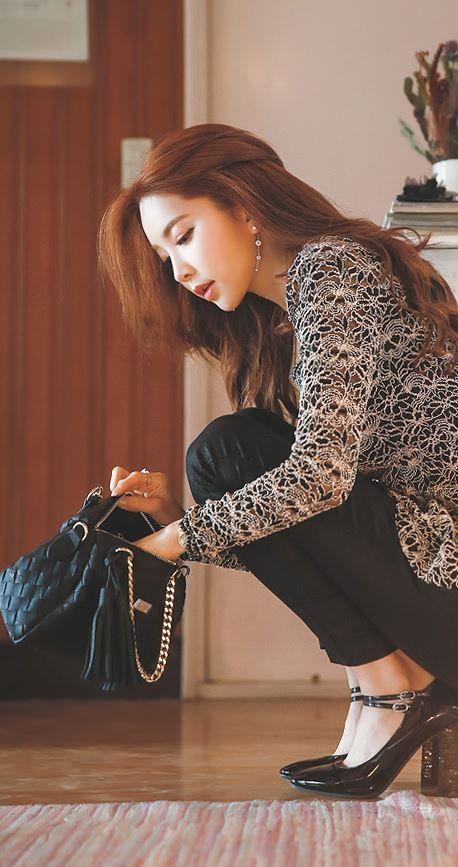 StyleOnme_No. 35533 #bag #weavingbag #weaving