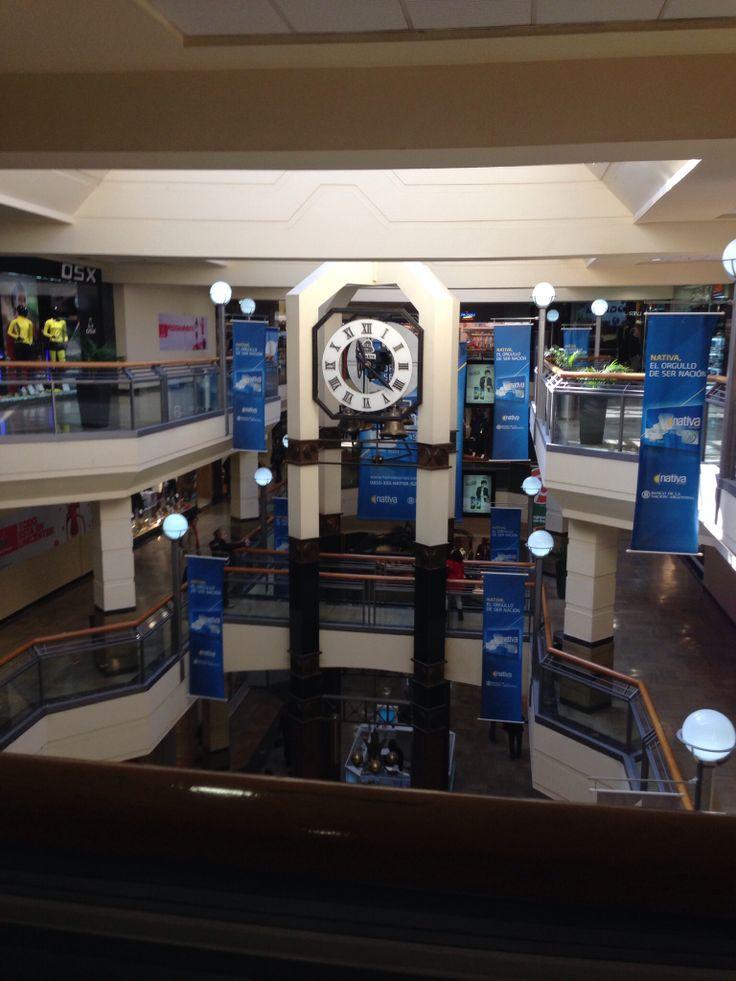 Reloj del Unicenter Shoping