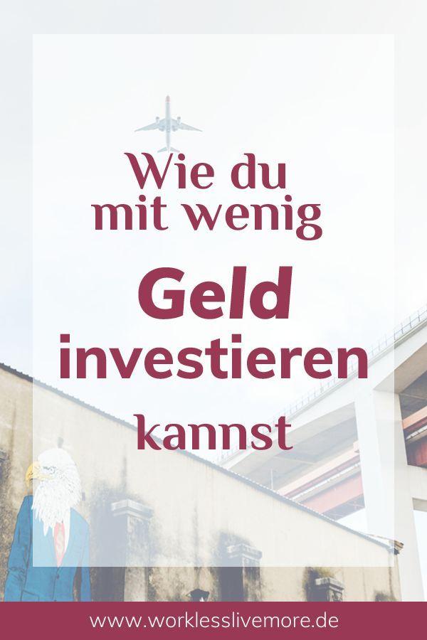 Wie du mit wenig Geld investieren kannst