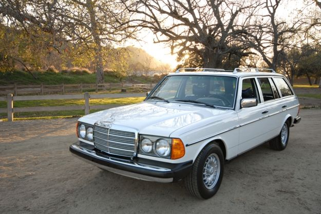 Not sure if it's the right year but mom LOVED her Diesel Mercedes almost as much as the Porsche. Moms was silver.  Mercedes Motoring - 1979 300TD Diesel Station Wagon