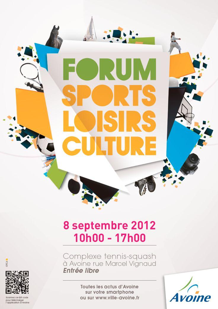 Ville d'Avoine, Forum Sports Loisirs Culture