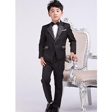 porteur de l'anneau tuxdo convient noir formel garçon tenues (1219373) - CAD $ 62.49