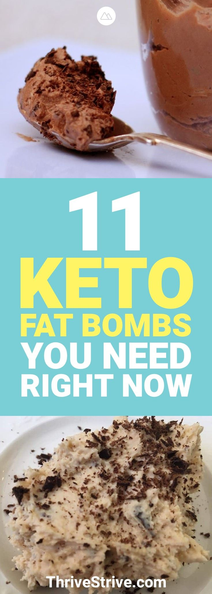 When you're on a ketogenic diet, you need to eat a lot of fats to lose fat. These 11 keto fat bombs are going to give you the fats you need to help you lose the fats you don't want.