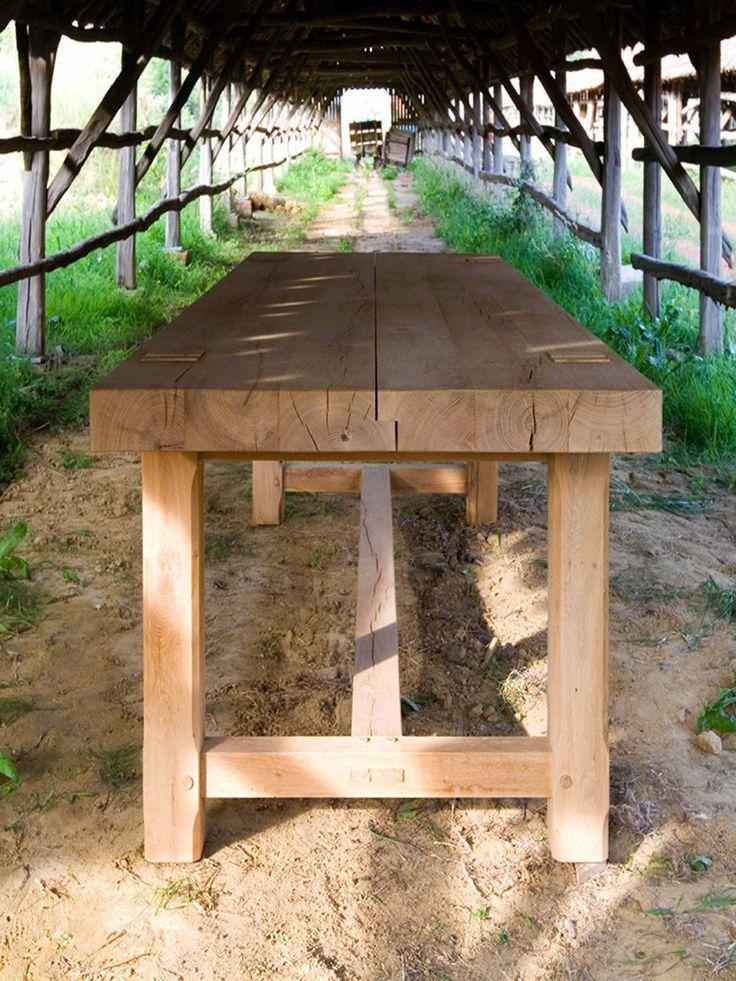 Oak Table So muß ein Esstisch aus Eiche massiv sein