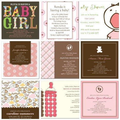 54 Best Pink And Brown Baby Shower Images On Pinterest Girl Baby