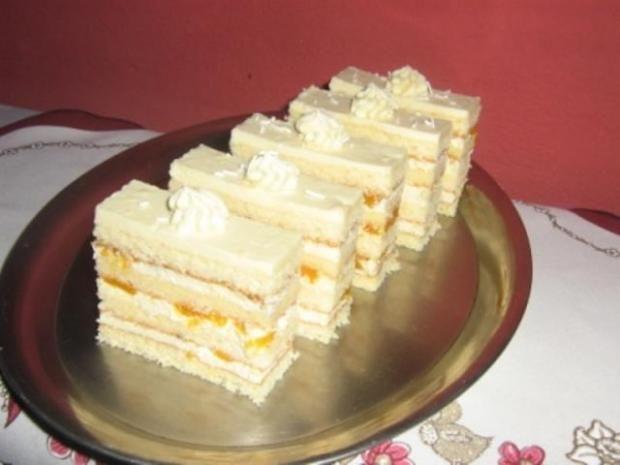 Mandarinkové rezy, recepty, Zákusky | Tortyodmamy.sk