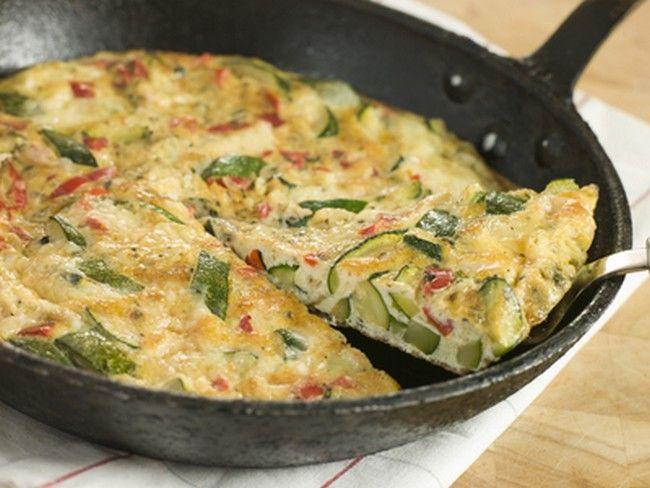 Cukkinis, sajtos frittata – mámorító falatok, tele vitaminnal!