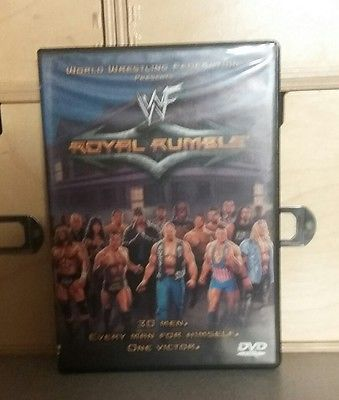 WWE WWF ROYAL RUMBLE 2001 DVD WITH INSERT RARE