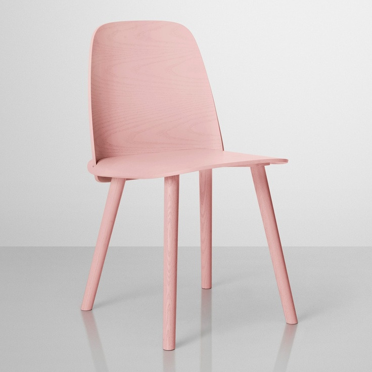Nerd Rose Stol from Muuto #rose #pink #chair #red #heart #valentines