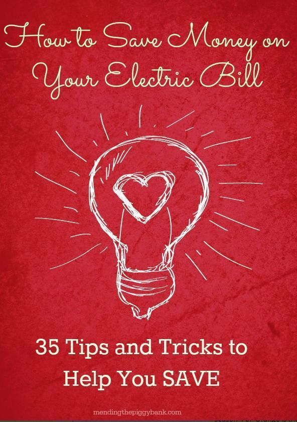 How to Save Money on Your Electric Bill -- Utility bills can be the pits sometimes. It's one of those bills that you have to pay and it's not going to go away, like a credit card bill would if you paid it off, so finding ways to SAVE on it is always important to me. Today, I have THIRTY-FIVE stellar tips on how to help reduce your electric bill!